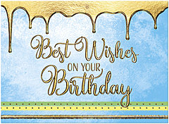 Icing on the Cake Birthday Card A1401G-W