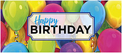 Colorful Balloons Birthday Card A1419L-Y
