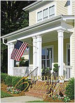 American Porch Birthday Card A1429U-X