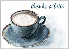 Thanks a Latte Card A1434D-X