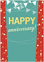 Happy Anniversary Card A1442D-Y