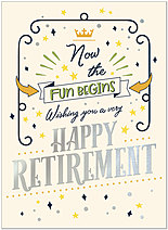 Retirement Fun Card A1444U-X