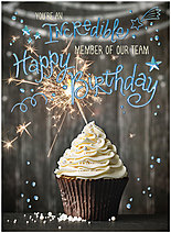 Incredible Cupcake Card A1563U-X