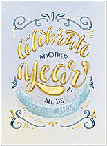 Celebration Sentiments Card A9216G-4W