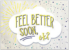 Feel Better Card D1446D-Y