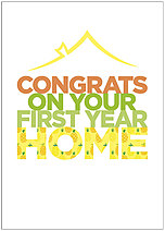 Home Congrats Card D1449D-X