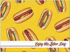 Labor Day Relish Card D1455U-Y