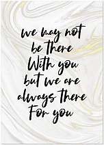 There for You Note Card D1558D-Y