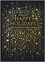 Cascading Wishes Holiday Card H1521G-4A