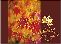 Thanksgiving Wishes Card H1476G-AAA