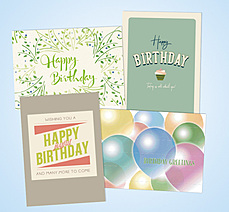 Recycled Birthday Assortment AO163