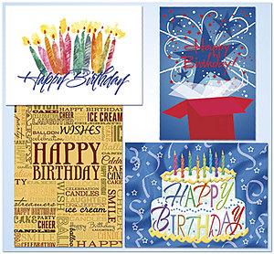 Birthday Assortment | Assortment Packs | Posty Cards, I
