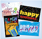 Birthday Postcard Assortment AO605