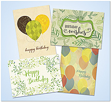 Recycled Birthday Assortment AO806
