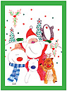 Christmas Toys Card D2158U-PL1