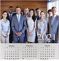Full Photo Calendar Card D1500U-4A