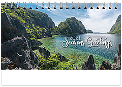 Scenic Seasons Desk Calendar SS2021