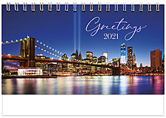 Scenic World Desk Calendar SW2021
