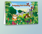 Children's Birthday Greeting Cards