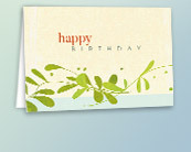 Recycled Business Birthday Cards
