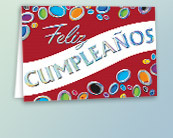Business Spanish Birthday Cards