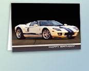 Automotive Birthday Greeting Cards