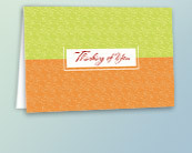 Business Thinking of You Greeting Cards