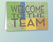 Employee Welcome Cards