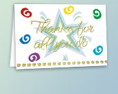 Employee Thank You Cards