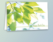 Green Earth Day Cards