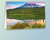 Scenic Birthday Greeting Cards