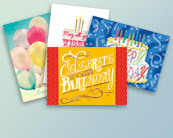 Birthday Card Assortments