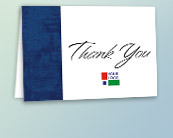 Custom Logo Thank You Cards