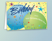 Business Logo Birthday Cards