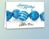 Business Holiday Logo Cards