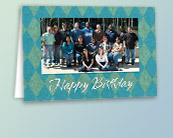 Business Photo Birthday Cards