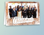 Foil Photo Christmas Cards