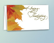 Business Thanksgiving Letterhead