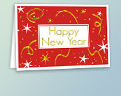 Business New Year's Cards