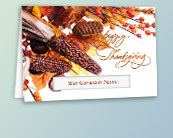Die Cut Window Thanksgiving Cards
