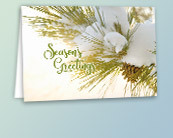 Recycled Business Christmas Cards