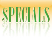 Internet Only Specials Greeting Cards