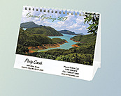 Personalized Easel Desk Calendars