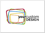 Custom Logo Notecard D8087U-V