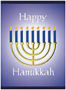 Hanukkah Greeting Card 9153C-AA