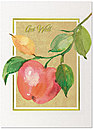 Apple a Day Get Well Card A2058D-X
