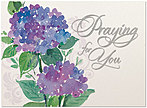 Praying for You Sympathy Card A5053U-X