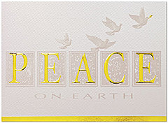 Peace Holiday Card H2176G-AAA
