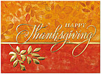 Foil Branch Thanksgiving Card H5106G-AAA